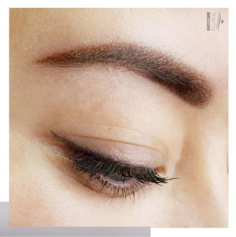 Перманентный макияж (татуаж) бровей 15