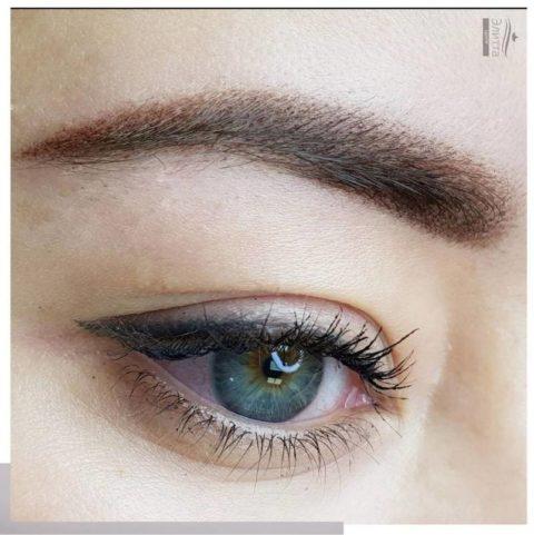 Перманентный макияж (татуаж) бровей 18